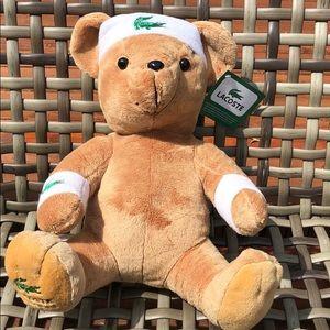 NWT Lacoste Tennis Bear